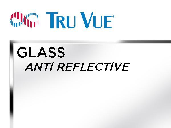 Tru Vue - 40x60 - ANTI REFLECTIVE Glass
