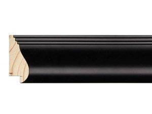 Gemini Wood Moulding - SATIN BLACK