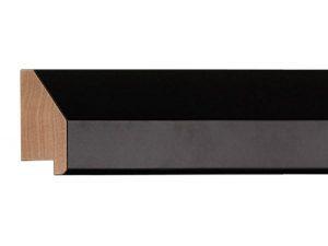 Gemini Wood Moulding - SLANTED BLACK