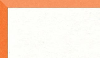 """Crescent Mat Board - Brite Core - Orange on White (32"""" X 40"""") *SPECIAL ORDER"""