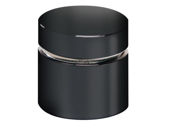 STANDOFF 3 BARREL X 1 1/4 CAP BLACK NICKEL *SPECIAL ORDER