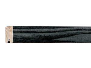 Gemini Wood Moulding - BLACK OAK STAINED GLASS
