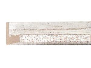 UFP Wood Moulding - RUSTIQUE FLOATER WHITE