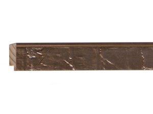 Fotiou Wood Moulding -  ORNATE OXIDIZED GOLD/BRONZE LEAF