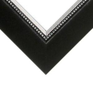 Nielsen Metal Moulding - BEADED FLORENTINE BLACK**