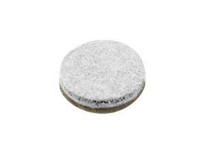 WHITE FELT BUMPONS 5/8 1000 RL