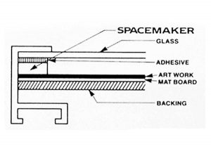 "1/8"" BLACK SPACEMAKER (100' TUBE)"