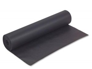"36"" BLACK KRAFT PAPER(50#)"