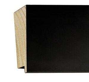 Gemini Wood Moulding - SLANT BLACK