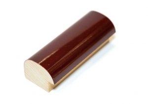 "Gemini Wood Moulding - 1 1/4"" BURGUNDY FORMICA **"