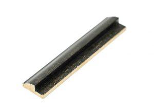 Gemini Wood Moulding - 5/8 BLACK FILLET**