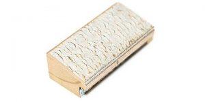 "Gemini Wood Moulding - 1 1/2"" WHITE W/ BRONZE**"