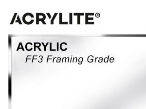 """Roehm - 60x144 - 3/16"""" FF3 Framing Grade Acrylite Acrylic - Clear"""