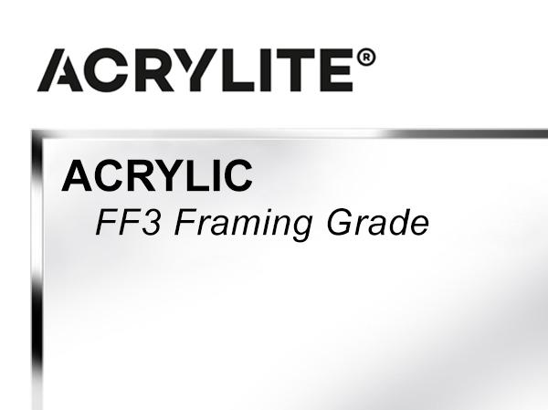 Roehm - 48x96 - .098 FF3 Framing Grade Acrylite Acrylic - Clear