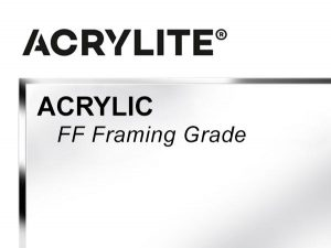 """Roehm - 48x96 - 1/2"""" FF Framing Grade Acrylite Acrylic - Clear"""