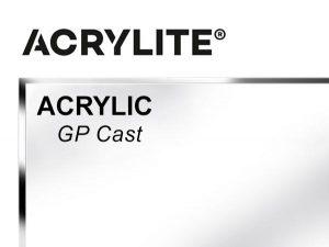"""Roehm - 48x96 - 1/4"""" GP Cast Acrylite Acrylic - Clear"""